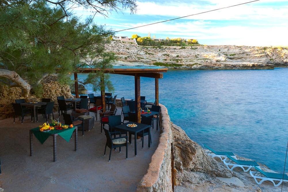 The Restaurant's terrace