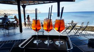 Beach Bar at the Relais Isole del Sud Lampedusa